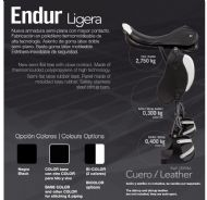 Lightweight Zaldi endurance saddle - Raid Ligera (leather)